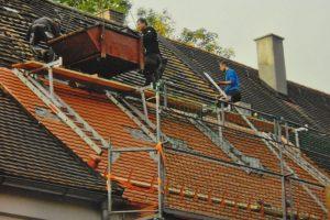 Dachsanierung Zimmerei Sterr