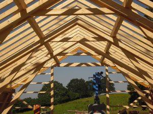 Dachstuhl Holzbau Zimmerei Sterr